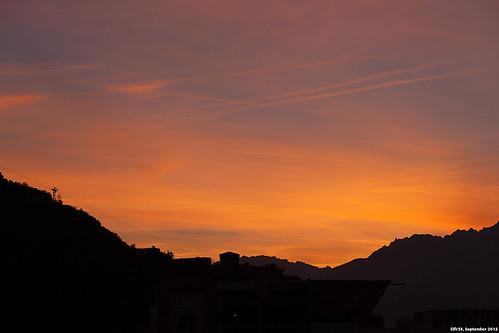 Sunrise From My Bedroom Window by LilFr38