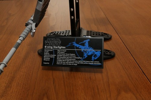 10227 B-wing Starfighter Review - 29
