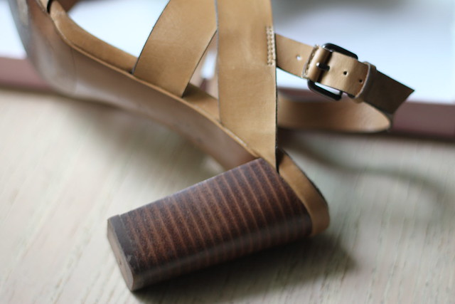 brown buttery leather
