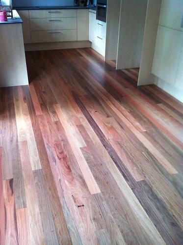 Grey Ironbark floor
