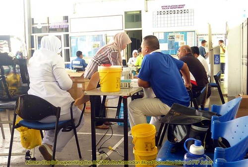Pra Ramadan Blood donation @ PTP Azman