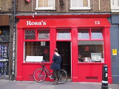 Rosa's, Hanbury Street