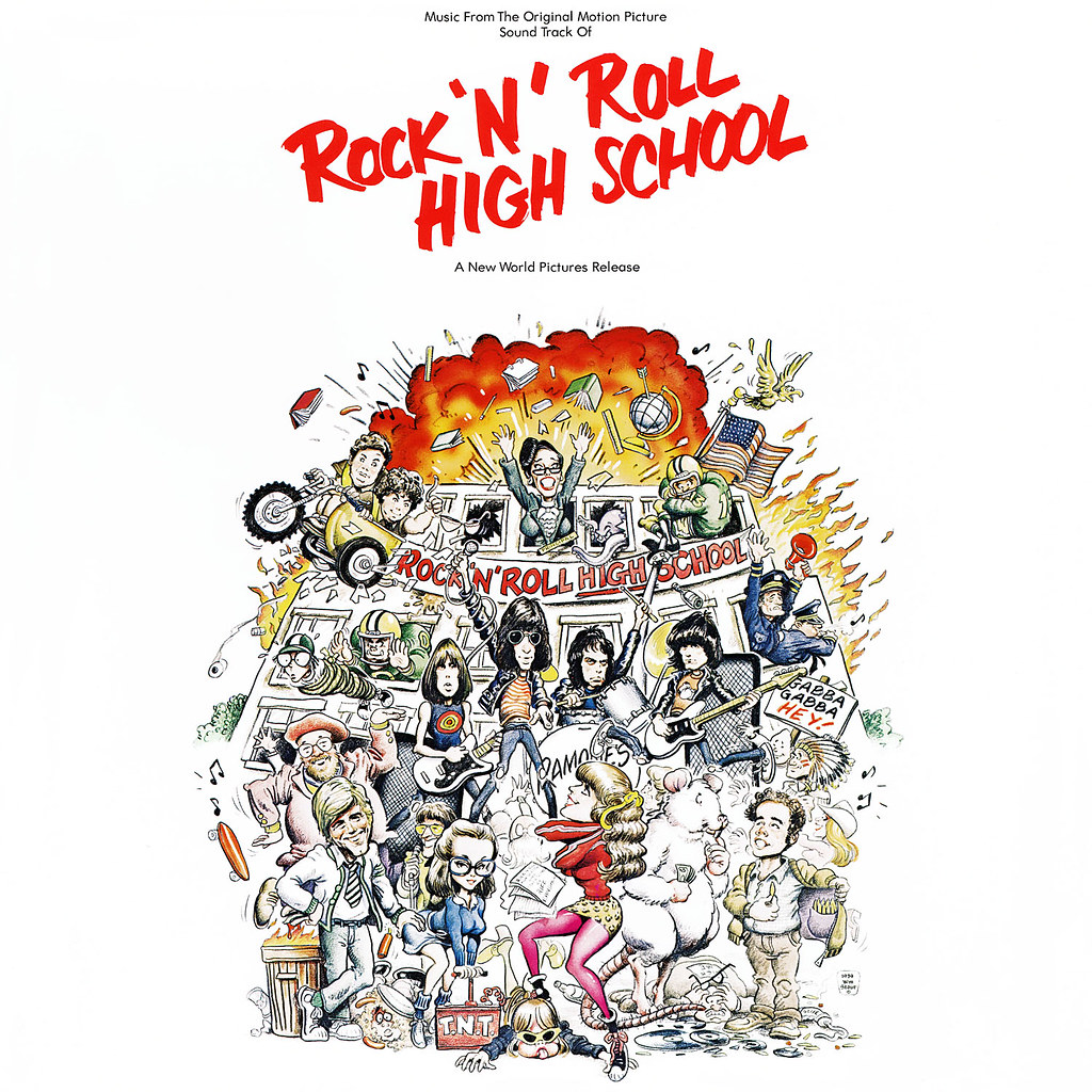 Various Artists - Rock 'N' Roll High School