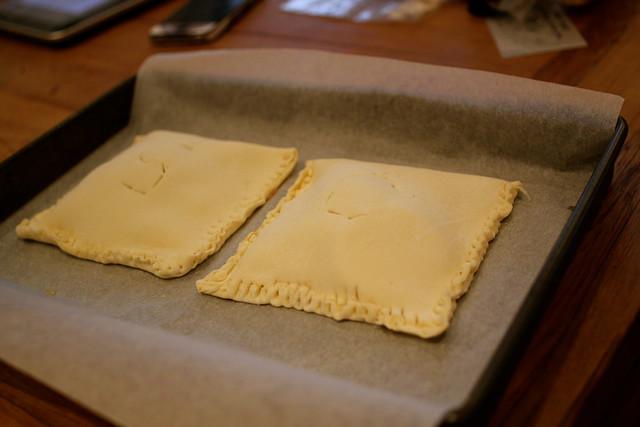 Tuesday: baking mini pies?