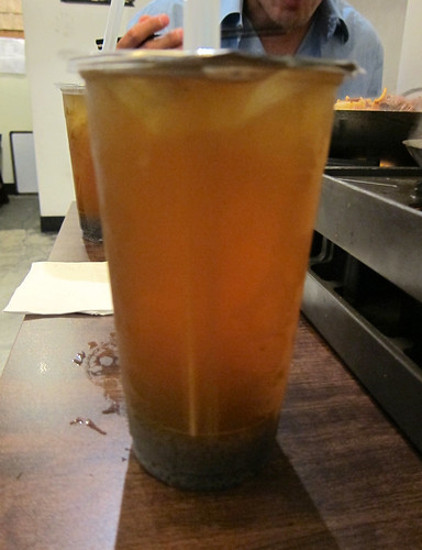 Green Tea with Chia Seeds (綠茶加山粉圓) ($3.45)