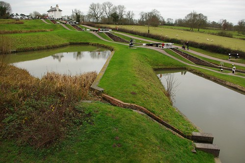 20111227-07_Balancing Ponds - Foxton Staircase Locks by gary.hadden
