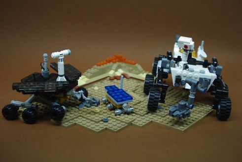 Mars Rovers Sojourner & Opportunity + Aldrin Mars Cycler ...