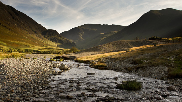 Dale Head and Hindscarth from Newlands Beck