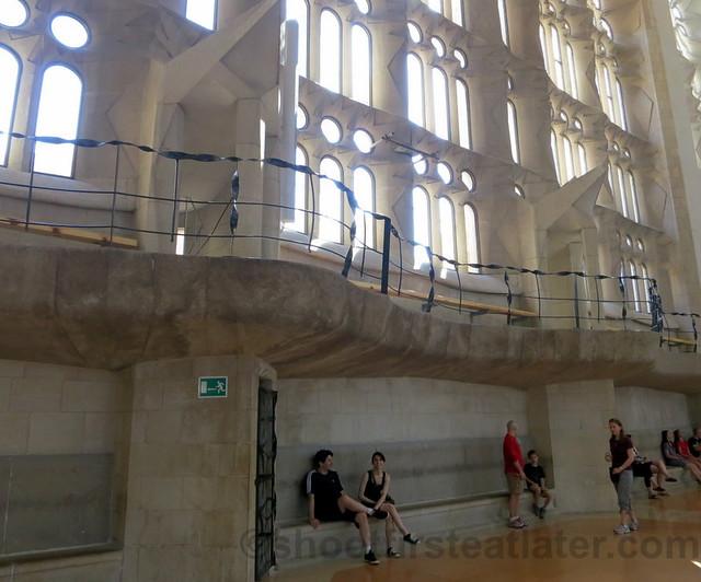 Vaults & Choir Galleries, Sagrada Familia-001