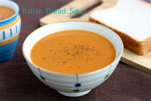 Italian bread soup2