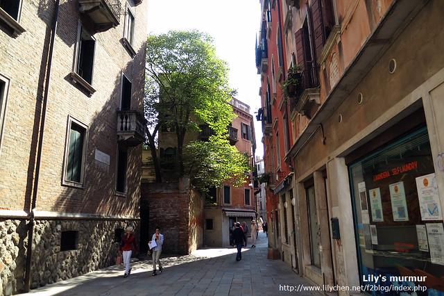 看起來普通的街道,卻有一種寧靜的美。