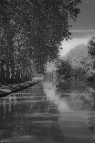 Canal du midi by Sophie G.S.