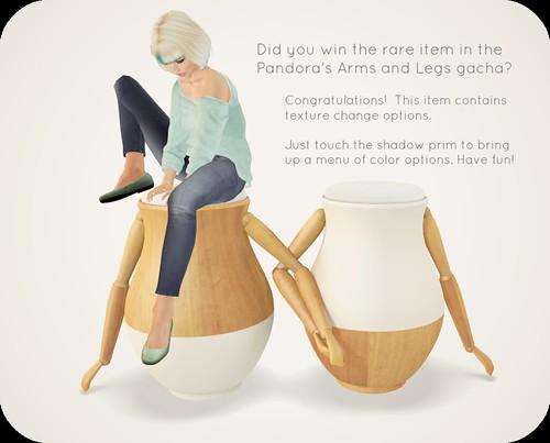 Pandora's Wooden Arms (rare)