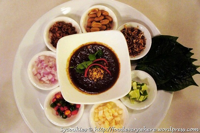 1.2Mieng Kam (All Time Favourite) –Traditional Thai Leaves Roll with 7 Condiments RM 15.90@goodevening bangkok one u_