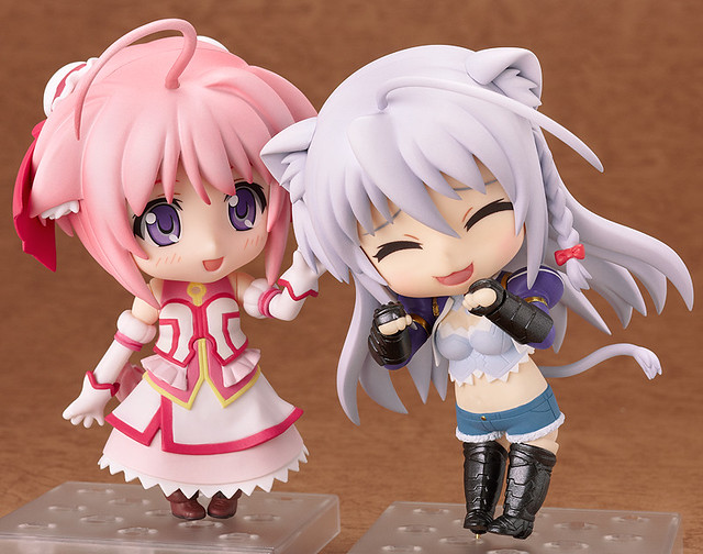Nendoroid Millhiore and Leonmitchelli
