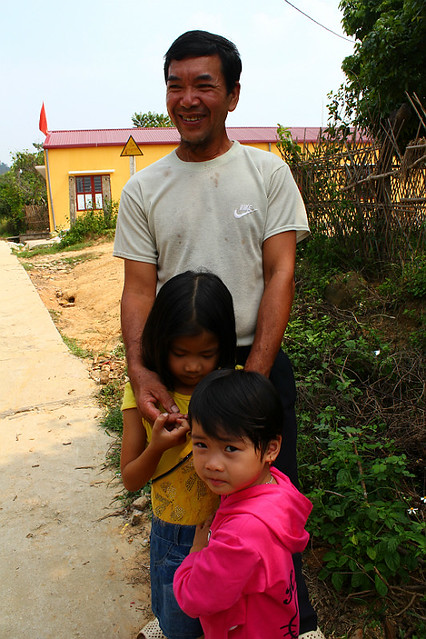 Our host and his two grandaughters