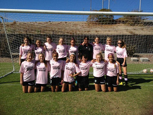 Santa Clara Sporting 99 Girls Green Team