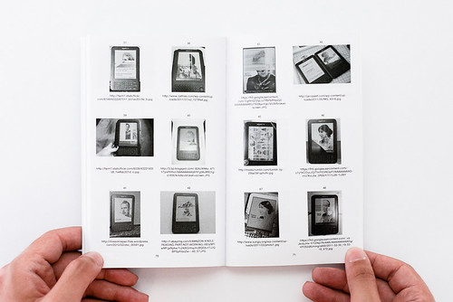 """56 Broken Kindle Screens"", by Silvio Lorusso and Sebastian Schmieg (2012)"