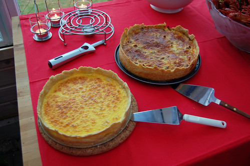 Cheese Quiches
