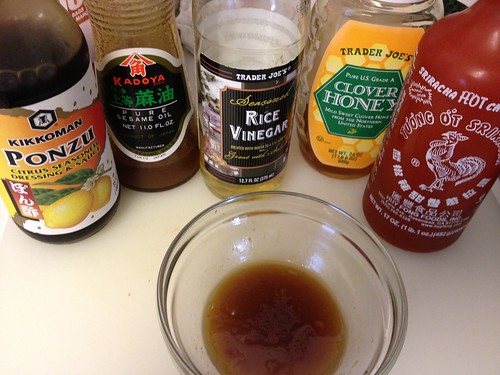 ponzu salad dressing