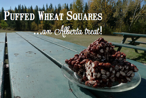 Puffed Wheat Squares...an Alberta treat!