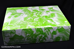 HGUC Kshatriya Pearl Clear (green) Binder Ver. Unboxing Pictures (3)