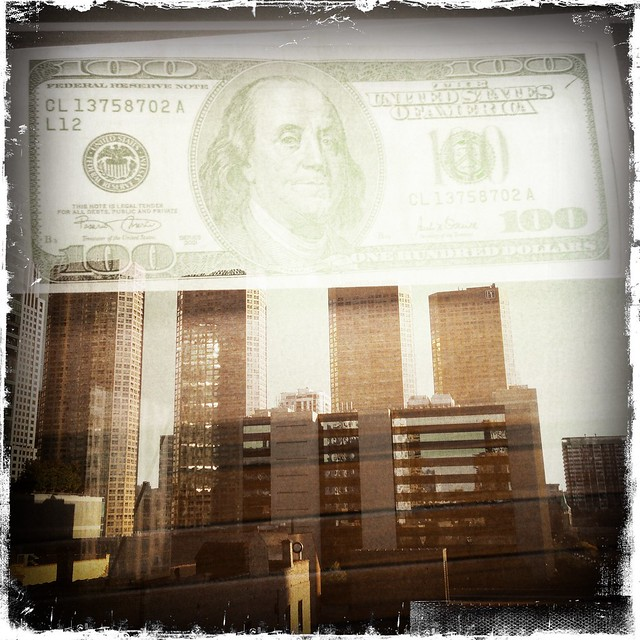 Presidential Towers with a Benjamin