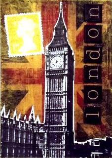A Famous City ATC #2 - London