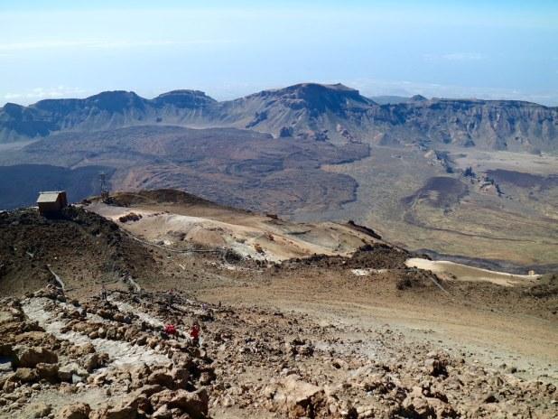 Vistas desde El Teide