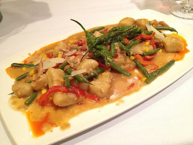 Roasted chicken and potato gnocchi - Briscola