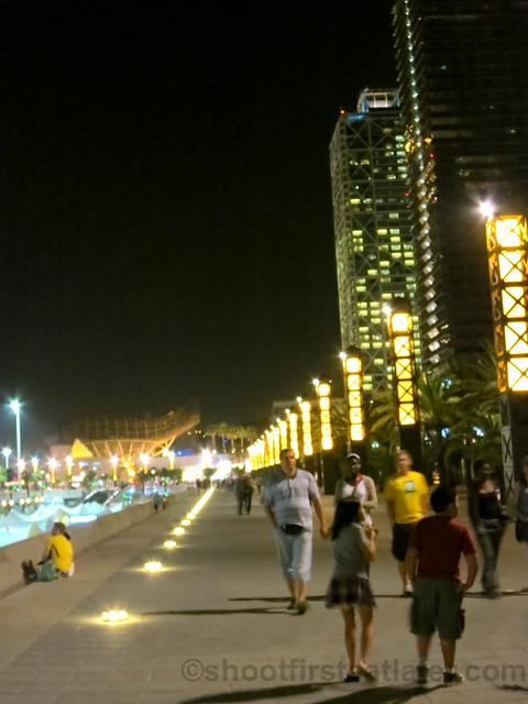 Barcelona's  Olympic Marina