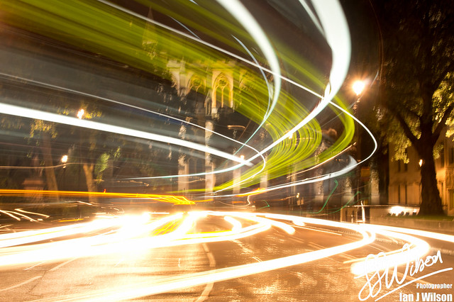 Abbey Light Trails
