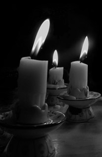 The moodiness of candles is often created by the type of exposure you take.