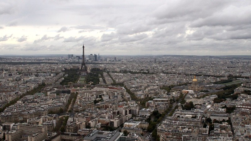 Paris : vue panoramique