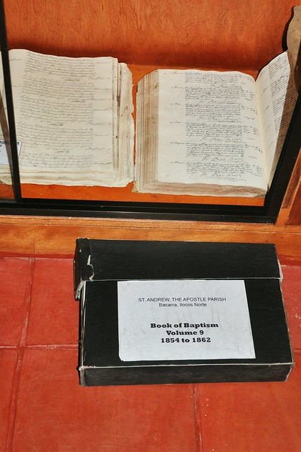 1800s Book of Baptism