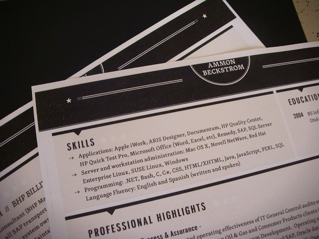 Loft Resumes CV Final