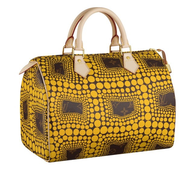 Speedy Monogram Town yellow