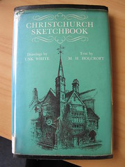 Christchurch sketchbook by Unk White, text by Monte Holcroft