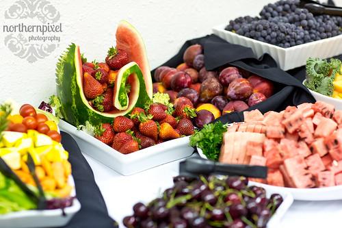 Fruit Tray's - Wedding Buffet