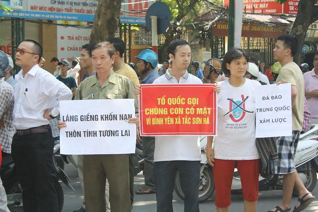 Vietnamese Protest in Hanoi