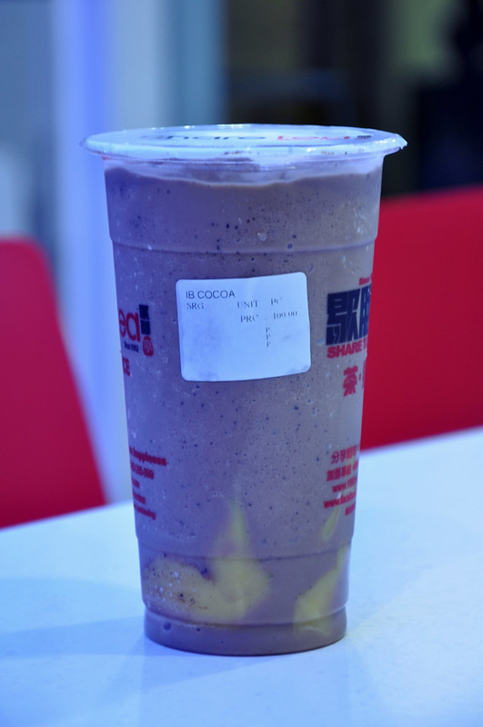 Ice Blended Cocoa with Pudding