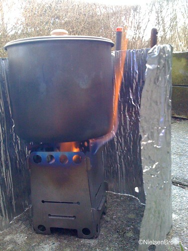 Pocket Stove and Zelphs Companion Burner and BPL 900 ml Pot