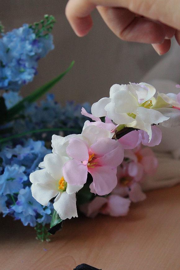 Tutorial corona de flores