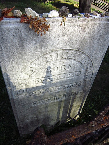 Grave of Emily Dickinson