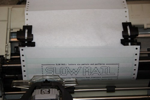 Slow Mail Letter Printing