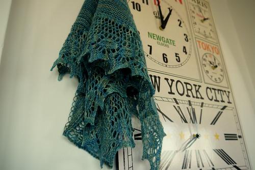 Birthday shawl 3