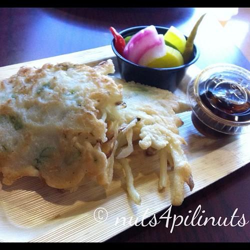Shrimp & Potato Fritter | Flip Night @thepointfeedsme #thepointfeedsme #filipinofood