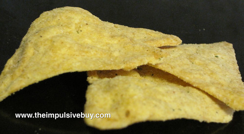Popchips Ranch Tortilla Chips Closeup
