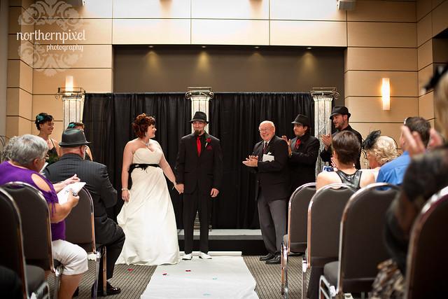Naomi & Matt's Wedding - Ramada Prince George