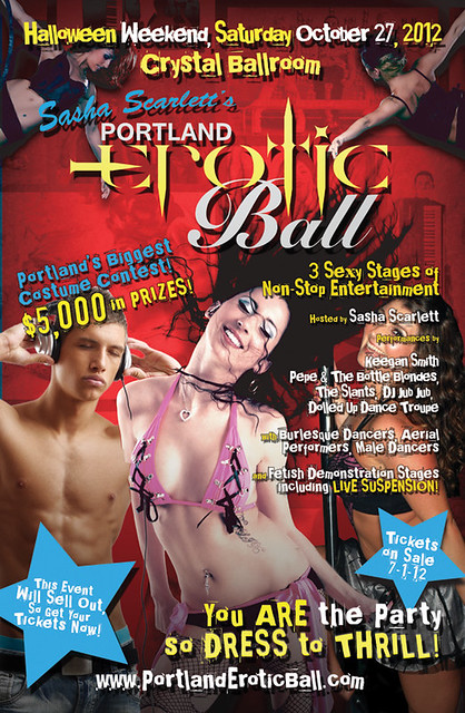 Portland's Biggest Halloween Party - The 2012 Portland Erotic Ball